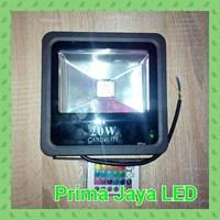 Cardilite Lampu Tembak RGb 20 Watt 1
