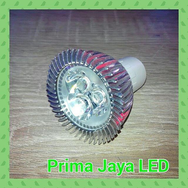 Jual Lampu LED 3 Watt Fitting MR16 Harga Murah Jakarta