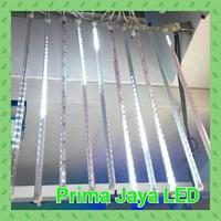 LED Meteor Snow Putih Set 50 Cm 1
