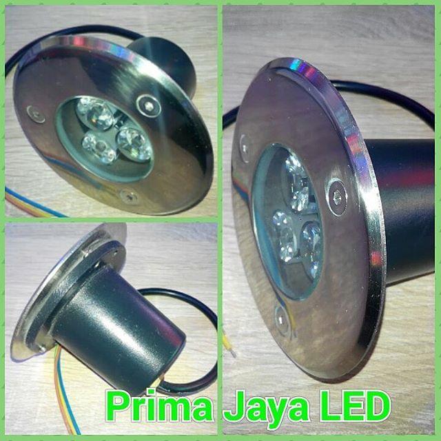 Jual Lampu LED Tanam Lantai 3 Watt Harga Murah Jakarta