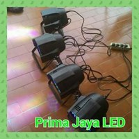 Lampu LED Paket Lampu PAR 54 RGBW Minimalis 1