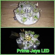 Downlight Lampu LED Bunga Hijau