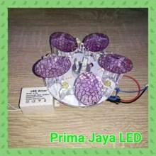 Downlight LED Motif Jamur Keren