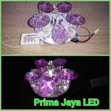 LED Ceiling Jamur Ungu