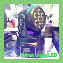 Mini Moving Par LED 7 X 10 Watt