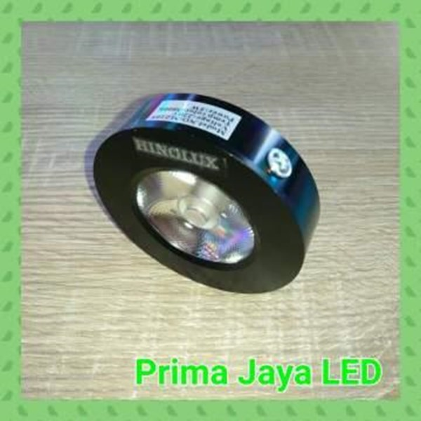Lampu Downlight Ceiling COB LED Outbo 5 Watt Body Hitam