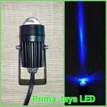 Lampu LED Interior Garis Lurus Biru 2 Watt