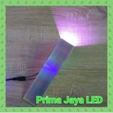 Lampu LED Interior Dinding EB 8881 Ungu