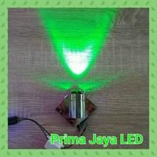 Lampu LED Interior Inbo Satu Arah Hijau EB 892 1