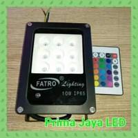 Lampu Sorot RGB Fatro SMD 5050 10 Watt 1