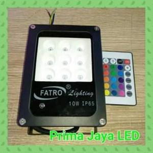 Lampu Sorot RGB Fatro SMD 5050 10 Watt