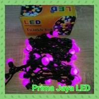Lampu LED Dekorasi Twinkle Anggur Ungu 1