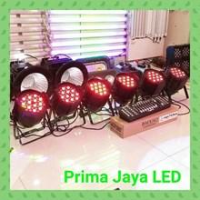 Lampu PAR Paket 36 x 3watt RGB + DMX 192