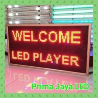 Lampu LED Running Teks 101 X 53 Merah 1