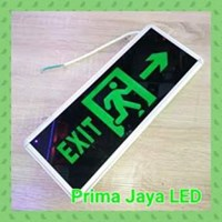 Lampu LED Sign Emergency Exit Murah 1