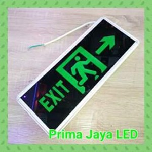 Lampu LED Sign Emergency Exit Murah