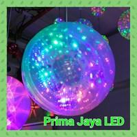 Lampu LED Magic Ball Gantung 30 Cm Bintik