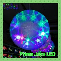 Lampu LED Magic Ball Star Gantung 30 Cm 1