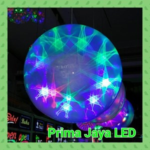 Lampu LED Magic Ball Star Gantung 30 Cm