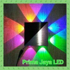 Lampu LED Interior Persegi 8 Watt RGBV 13075
