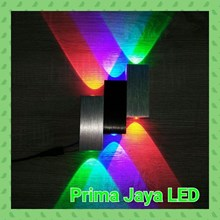 Lampu Led Wall RGB 6 Watt 28045