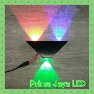 Lampu Led Wall RGB Sound 3 Watt 27033