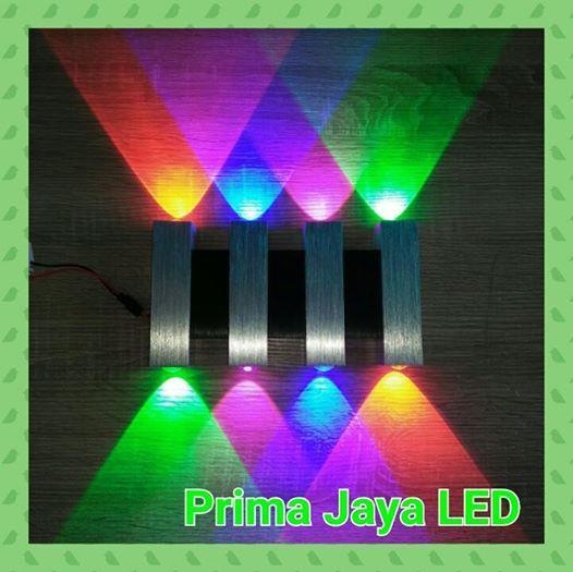 Jual Lampu LED Interior Dinding RGBV 8 Watt 898 Harga