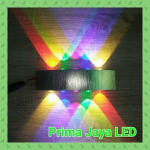 Lampu LED Interior Spot Wall 10w RGBV 80020