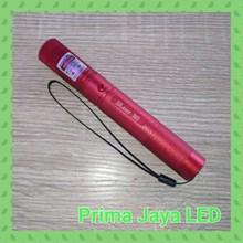 Alat Presentasi Laser Pointer Hijau 303 Body Merah