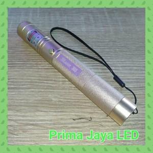 Alat Presentasi Laser Pointer Green 303 Body Emas