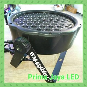 Lampu LED Slim Par LED 54 X 1 Watt RGBW
