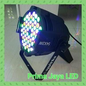 Lampu LED Par LED 54 X 3 Watt RGBW Body Bold