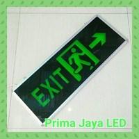 Lampu LED Emergency Exit Besar 30 X 80 Cm