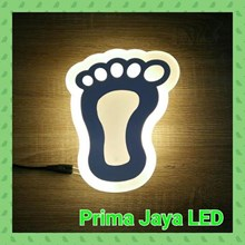 Lampu Led Wall Happy Foot 8011