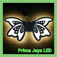 Lampu  Led Wall Twin Butterfly 8502 1