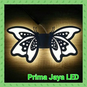 Lampu  Led Wall Twin Butterfly 8502