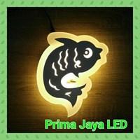 Lampu Led Wall Cute Fish 7025