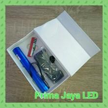 Alat Pesentasi Pointer Laser Hijau 303 Biru