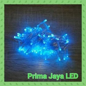 Lampu LED Twingkle Natal Biru