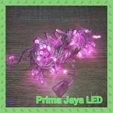Lampu LED Twingkle Natal Pink