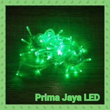 Lampu LED Twingkle Natal Hijau