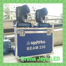 Lampu Sorot Beam 230 Spark Blue Box