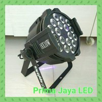 Lampu LED PAR 18 X 10 W 4 in 1 RGBW