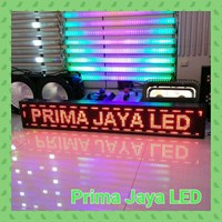 Led Lights Display Red Text Running 133 X 21 Cm