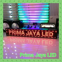 Lampu LED Display Running Teks Merah 133 X 21 Cm