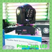 Lampu LED Mini Moving Head 5×10 Double Face
