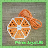 Aksesoris Lampu Colokan Multi Bentuk Lemon Orange