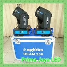 Lampu Sorot New Beam Spark 230 7R Garis Biru