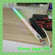 Lampu LED Meteor 3 Warna RGB