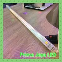 Jual Lampu LED Meteor Gantung Kuning 80cm